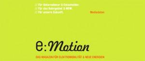 e:Motion Mediadaten